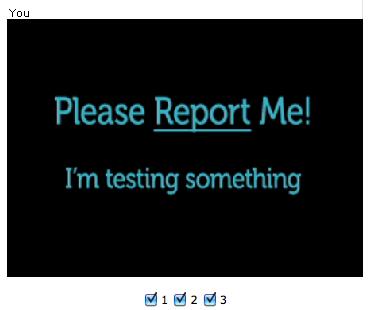 ChatRoulette - Please Report Me
