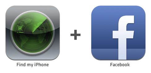 Facebook + Find My iPhone